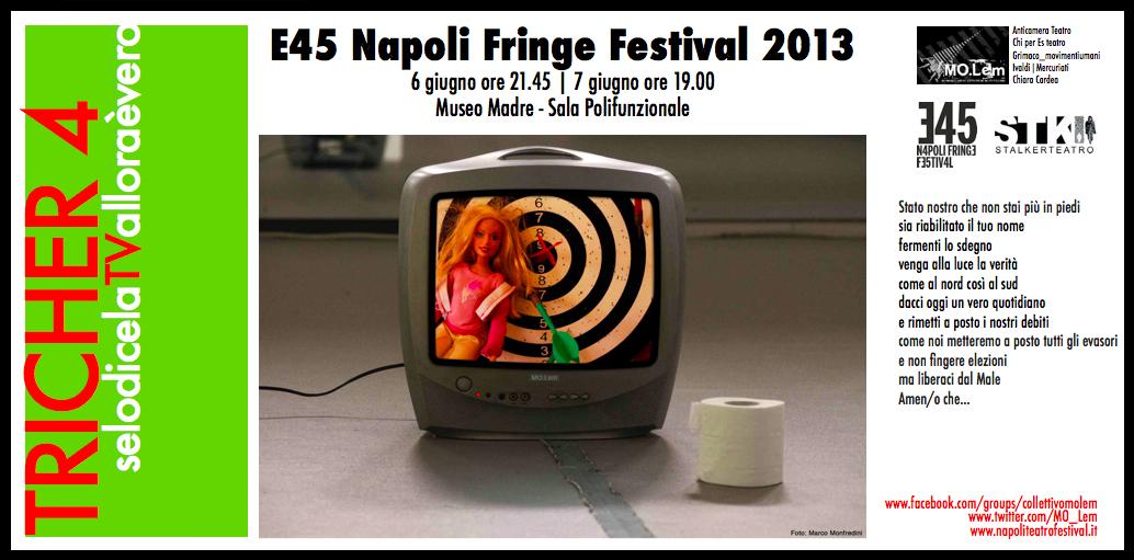 TRICHER 4_Movimento Libere Espressioni Metropolitane_invito Napoli